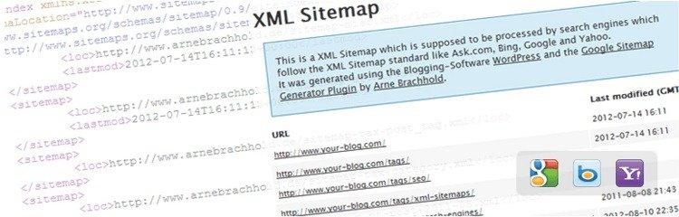 إضافة Google XML sitemaps