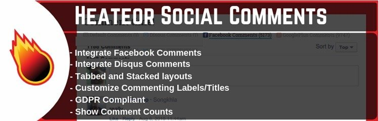 إضافة WordPress Social Comments