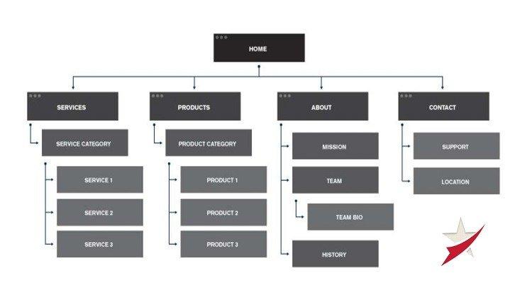 هيكلة الموقع Site Structure